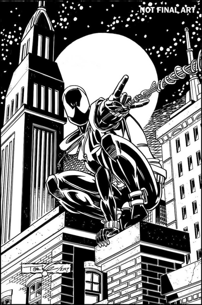 Ben Reilly: the Scarlet Spider #1, variant cover di Tom Lyle