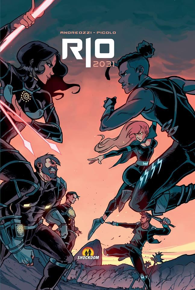 Rio 2031, copertina di Gabriel Picolo