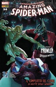 Amazing Spider-Man 34, copertina di Alex Ross