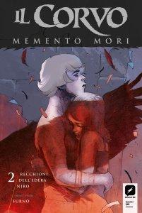 Il Corvo: Memento Mori 2, copertina di Werther Dell'Edera