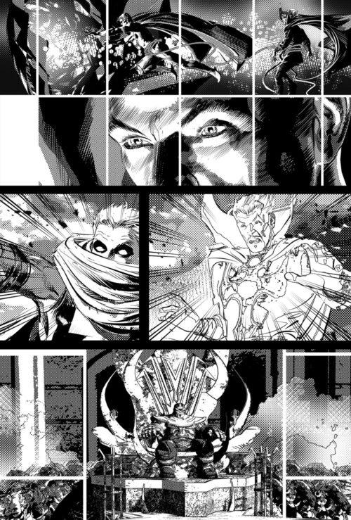 Infinity Wars: Prime #1, anteprima 01