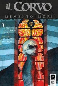 Il Corvo: Memento Mori 3, copertina di Werther Dell'Edera