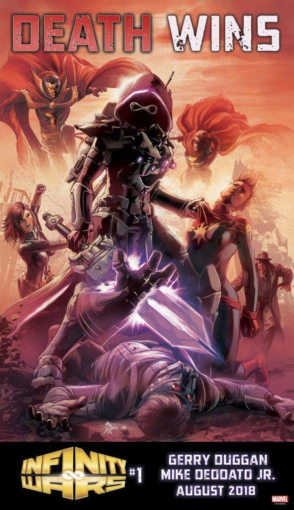 Infinity Wars, teaser di Mike Deodato Jr.
