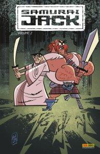 Samurai Jack vol. 2, copertina di Andy Suriano