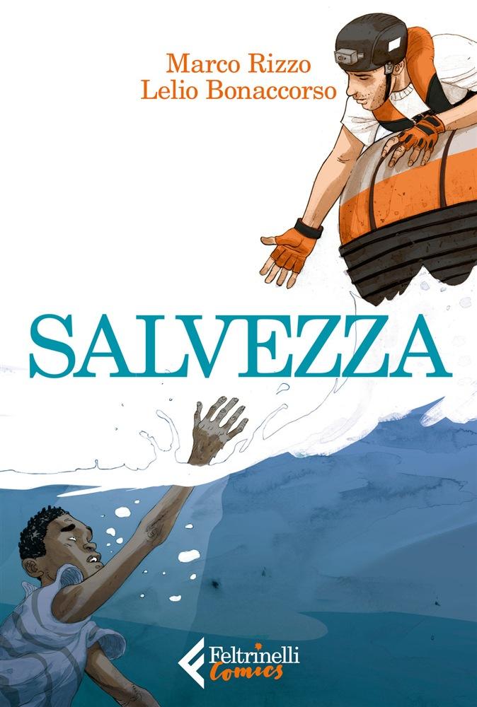 Salvezza, copertina di Lelio Bonaccorso