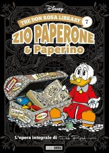 The Don Rosa Library: Zio Paperone & Paperino vol. 7, copertina di Don Rosa