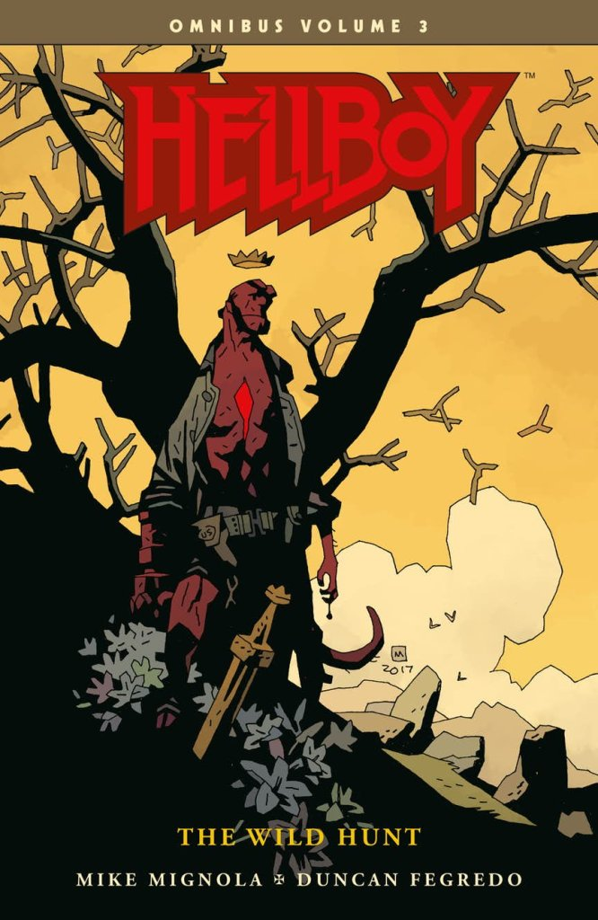 Hellboy Omnibus vol. 3: The Wild Hunt, copertina di Mike Mignola