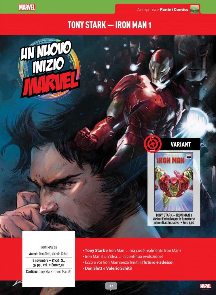 Tony Stark Iron Man 1 su Anteprima