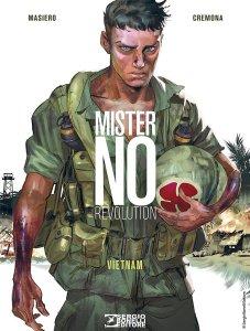 Mister No Revolution - Vietnam, copertina di Emiliano Mammucari