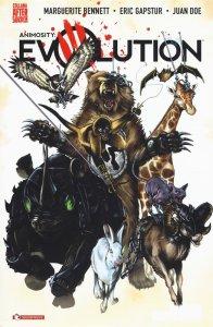 Animosity Evolution vol. 1: Mondo nuovo, copertina di Mike Rooth