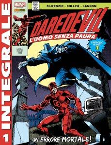 Daredevil di Frank Miller 1, copertina di Frank Miller