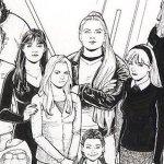 Terry Moore annuncia Five Years, con tutti i personaggi delle sue opere