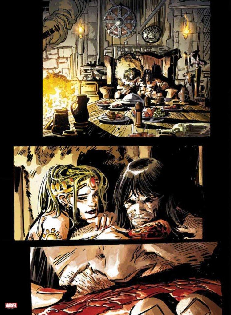 La spada selvaggia di Conan su Anteprima