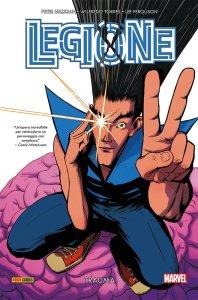 Legione: Trauma, copertina di Javier Rodriguez