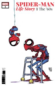 Spider-Man: Life Story #1, variant cover di Skottie Young