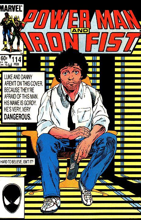 Power Man and Iron Fist #114, copertina di Billy Graham