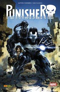 Punisher vol. 1: War Machine, copertina di Clayton Crain