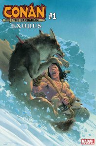 Conan the Barbarian: Exodus #1, copertina di Esad Ribic