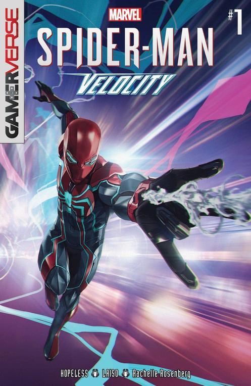 Marvel's Spider-Man: Velocity #1, copertina di Skan