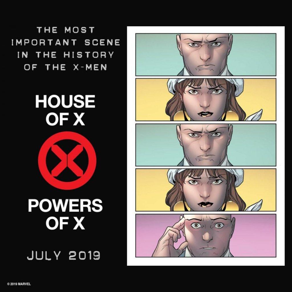 Powers of X, teaser di R.B. Silva