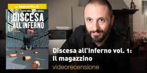 SaldaPress, AfterShock – Discesa all'Inferno vol. 1: Il magazzino, la videorecensione e il podcast