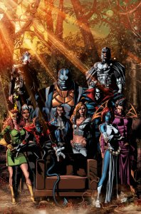 Powers of X #1, variant cover di Mike Deodato Jr.