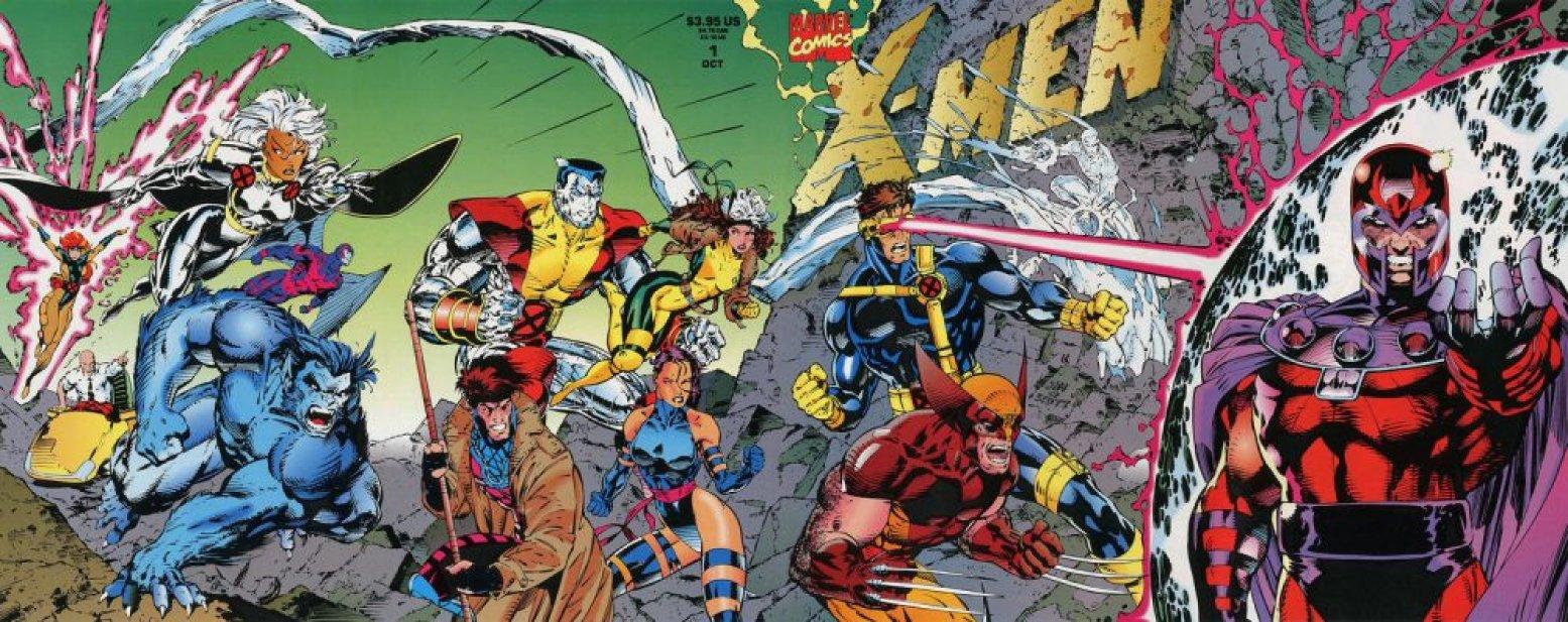 X-Men #1, copertina di Jim Lee