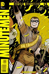 Before Watchmen: Minutemen #1, copertina di Scott Williams