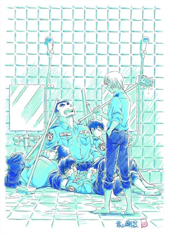 Detective Conan spin-off, illustrazione di Gosho Aoyama