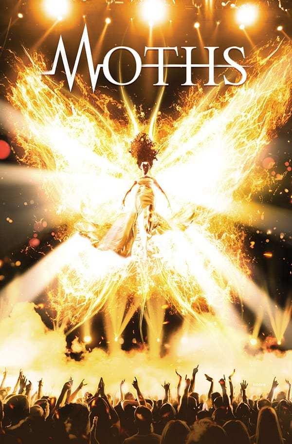 Moths, copertina di Kaare Andrews