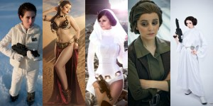 Banner Cosplay Leia