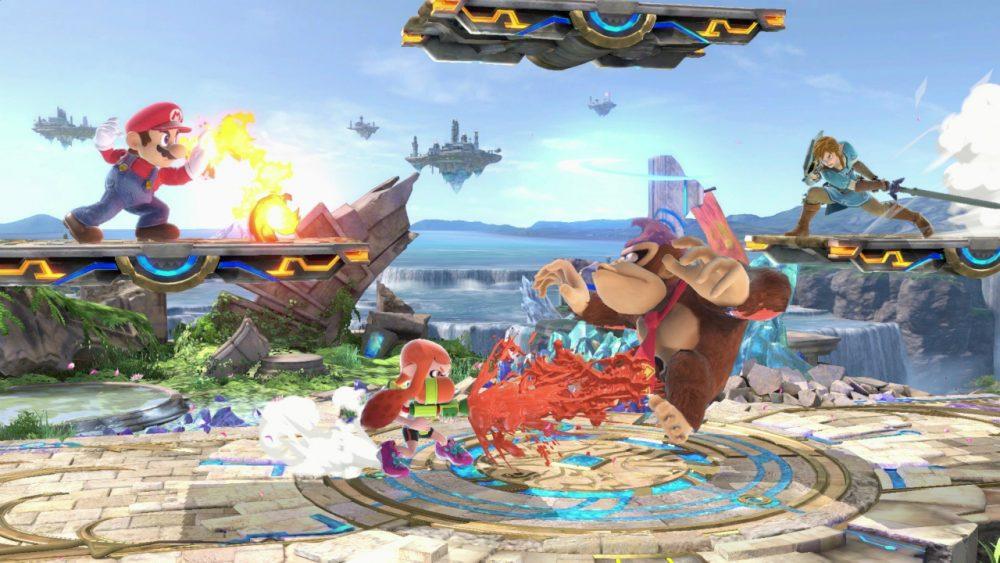 Super Smash Bros. Ultimate banner scheda