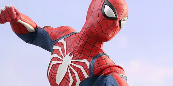 Marvel's Spider-Man Hot Toys banner