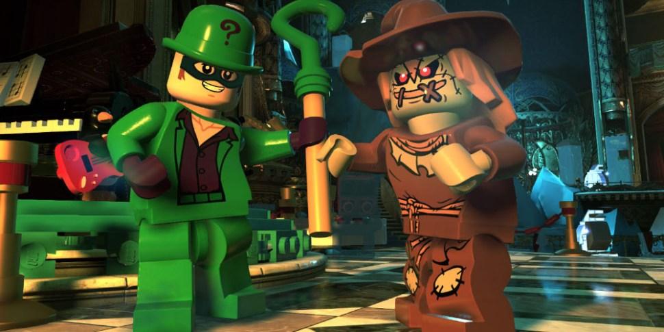 LEGO DC Super-Villains megaslide