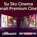 I canali cinema di Mediaset Premium da oggi disponibili su Sky