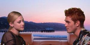 Riverdale: Lili Reinhart e KJ Apa ricreano una scena memorabile di Beverly Hills, 90210!
