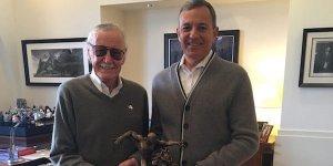 Stan Lee Bob Iger Marvel Disney