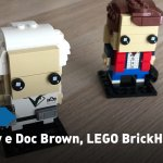 Unboxing – LEGO BrickHeadz 41611, Marty McFly e Doc Brown il video in timelapse!