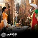 Aladdin: Jasmine e il Sultano in una nuova immagine dal film di Guy Ritchie