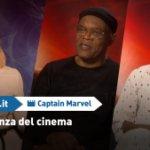 EXCL – Captain Marvel: Brie Larson e il cast sull'importanza dell'esperienza cinematografica