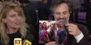 Avengers: Endgame, Mark Ruffalo scopre sul red carpet che Brie Larson era nel cast di 30 Anni in un Secondo insieme a lui