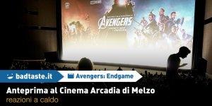 Avengers: Endgame, le reazioni a caldo dopo l'anteprima ad Arcadia Cinema di Melzo!