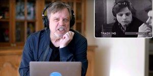 Star Wars: Mark Hamill e la sua reazione al suo provino per la parte di Luke Skywalker