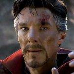 doctor strange benedict cumberbatch slide avengers endgame