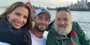 thor love and thunder russell crowe chris Hemsworth