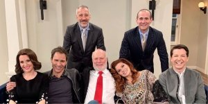 will & grace - showrunner cast e james burrows