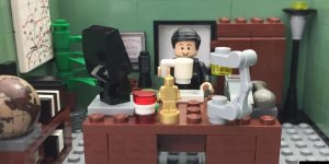 the office lego