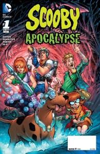 Scooby Apocalypse #1, copertina di Jim Lee