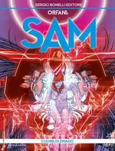 Orfani - Sam 8: Cuore di Drago, copertina di Carmine Di Giandomenico