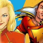 Shazam e Carol Danvers: breve storia dei due Capitan Marvel